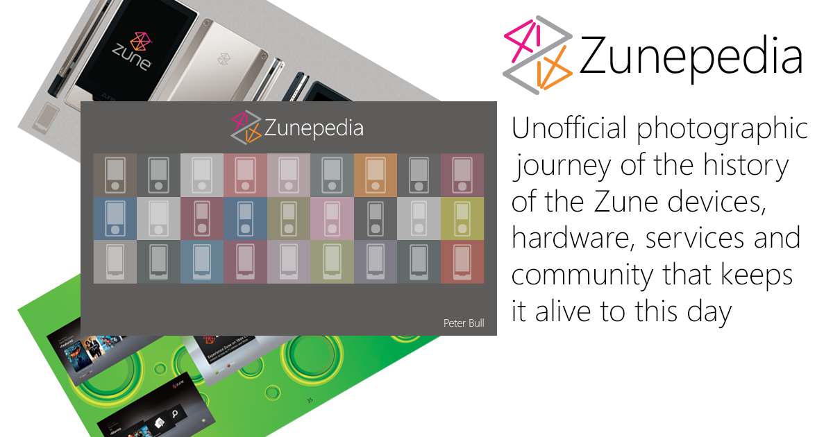 Unofficial photographic journey of the history of the Zune devices, hardware, services and the community that keeps it alive to this day